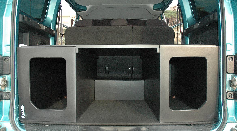 nissan nv200 muebles para camperizar tu furgoneta
